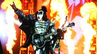 Gene Simmons from the band Kiss