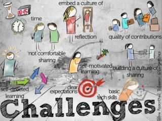 Building a Professional Development Hub for your School- Part 3- Challenges