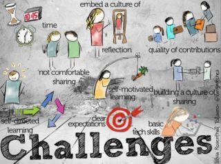 Building a Professional Development Hub for your School- Part 3- Challenges
