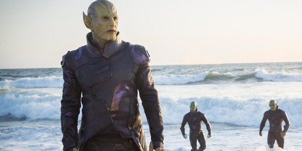 Skrull Marvel Comics MCU Captain Marvel