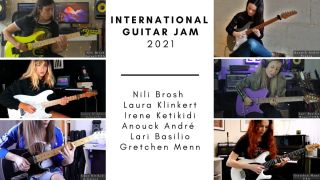 International Women's Day guitar jam