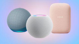 amazon echo apple homepod mini google nest audio