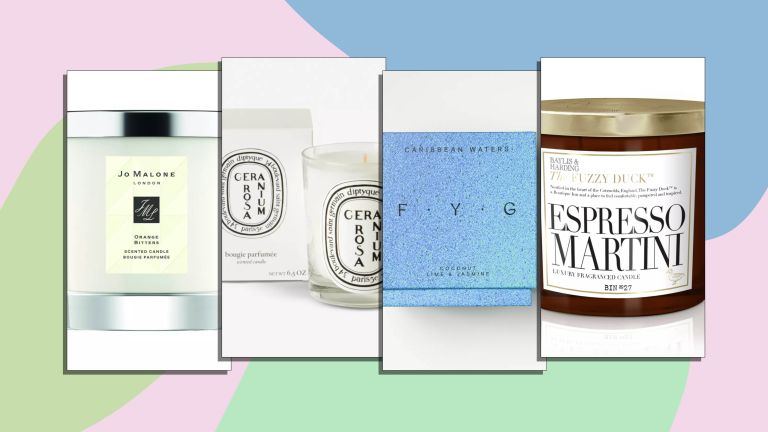 A selection of the best scented candles fmor left to right Jo Malone London, Diptyque, F.Y.G, Bayliss & Harding