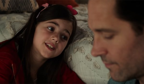 Scott Lang and his daughter Cassie