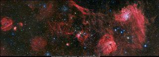 Region in the Auriga Constellation by Hancock