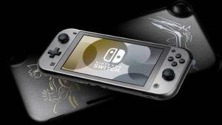 Nintendo Switch Lite Pokemon Dialga and Palkia Edition