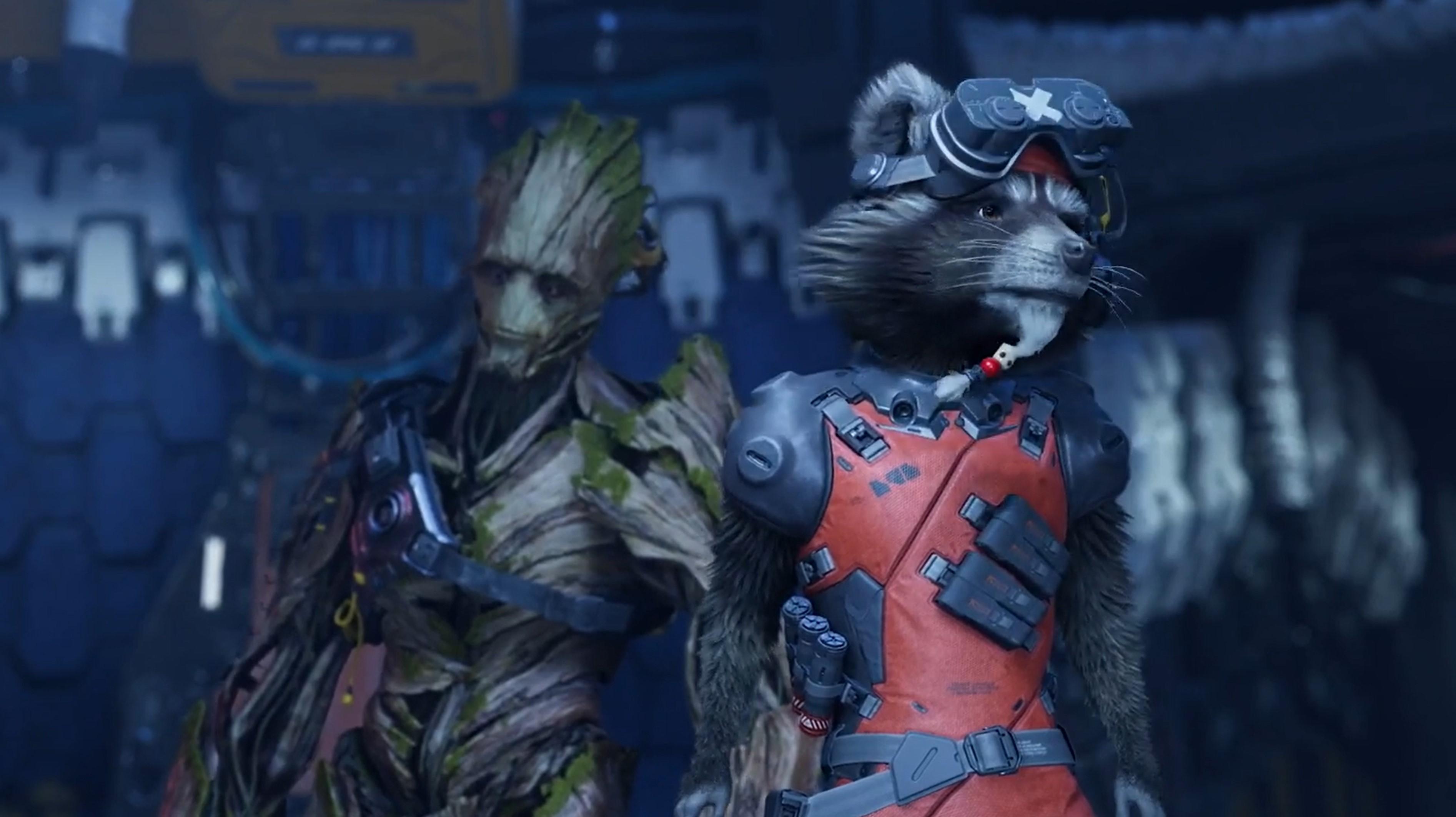 Square Enix E3 Guardians of the Galaxy