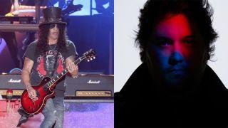 Slash (left) and Wolfgang Van Halen