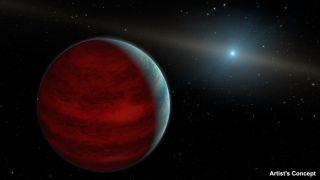 Artist's Concept of 'Rejuvenated Exoplanet'