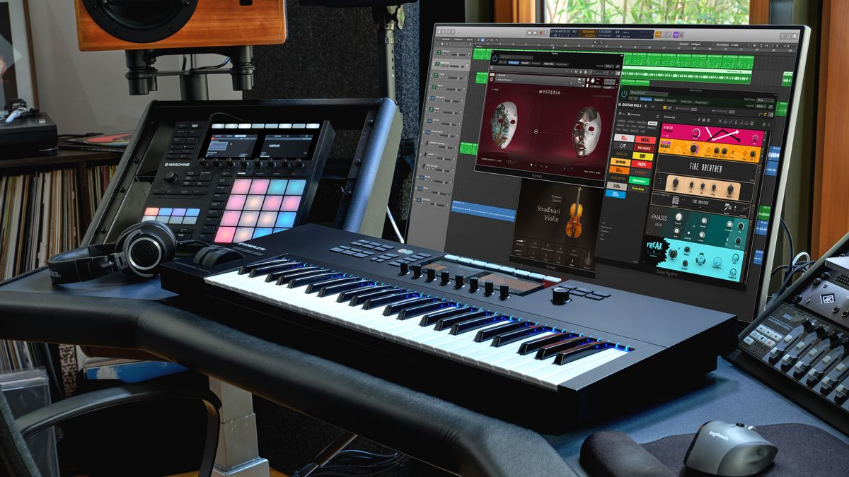 Maschine+, Komplete 13 and Guitar Rig 6 Pro land in the Native Instruments shop, and there's a free Maschine software update, too