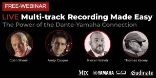 Live Multi-track Recording Made Easy: The Power of the Dante-Yamaha Connection