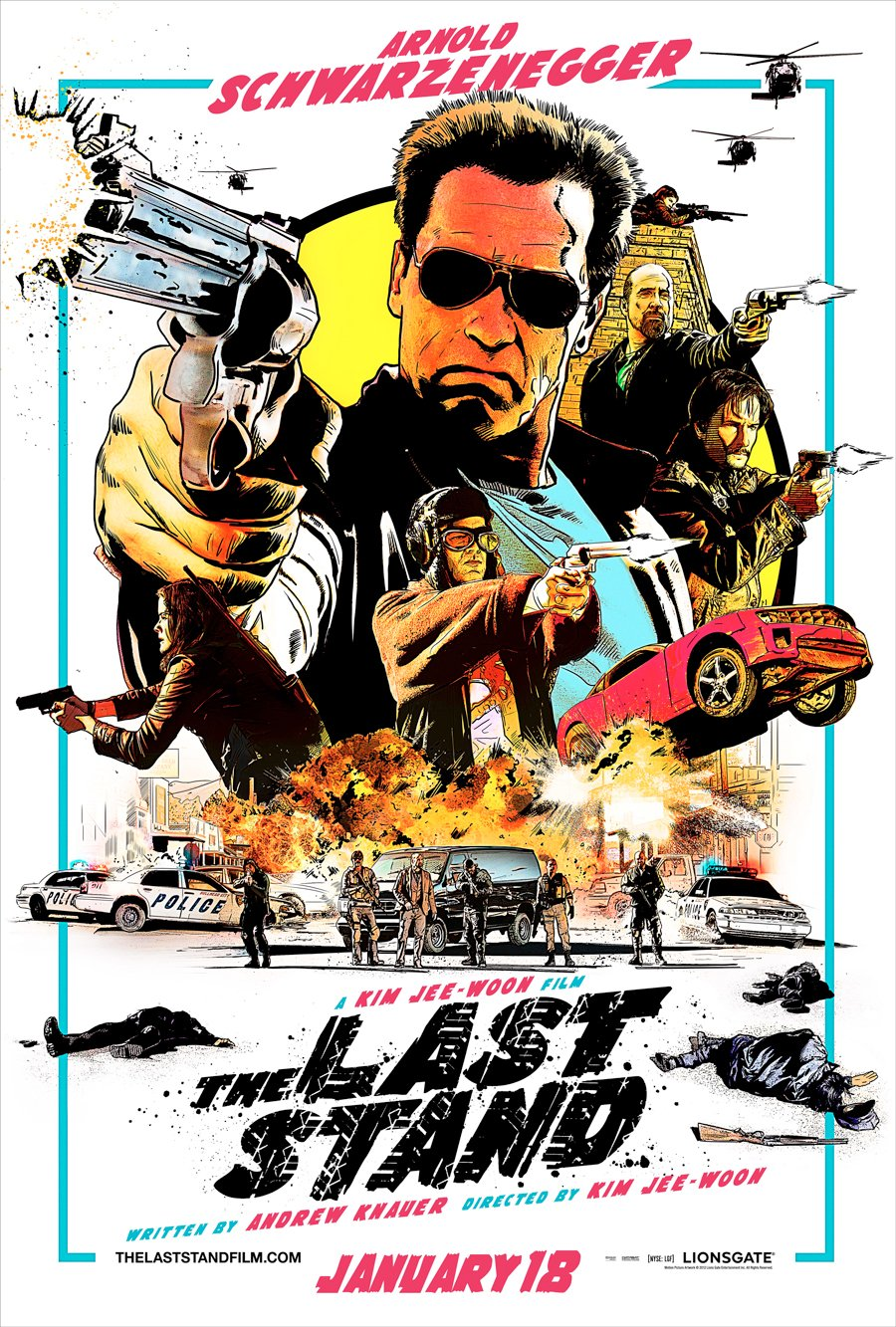 The Last Stand Giveaway: Win Posters, A T-Shirt, Arnold DVDs And More #6845