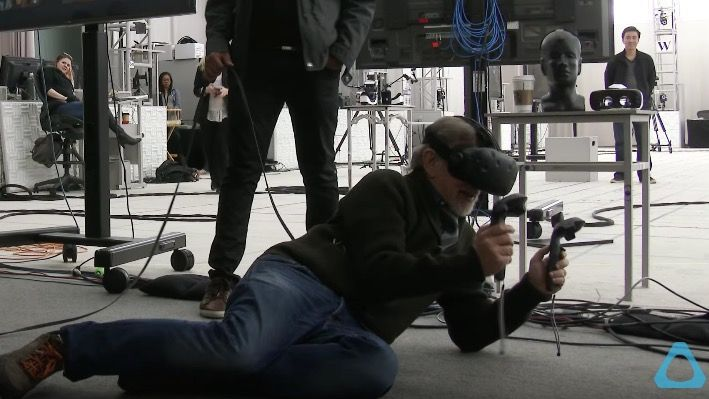 Steven Spielberg donned a HTC Vive to make Ready Player One