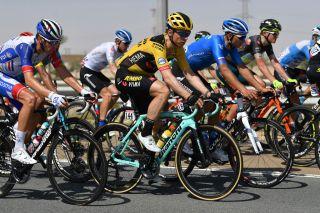Jumbo-Visma's Tony Martin at the 2020 UAE Tour