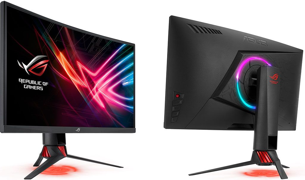 Asus Launches A 27 Inch 144hz Curved Gaming Monitor With