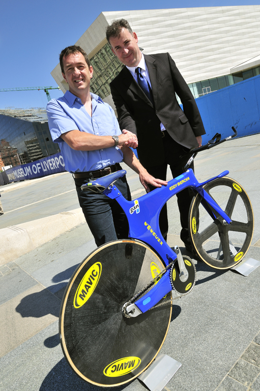 Chris Boardman and curator of contemporary collecting, Paul Gallagher.jpg