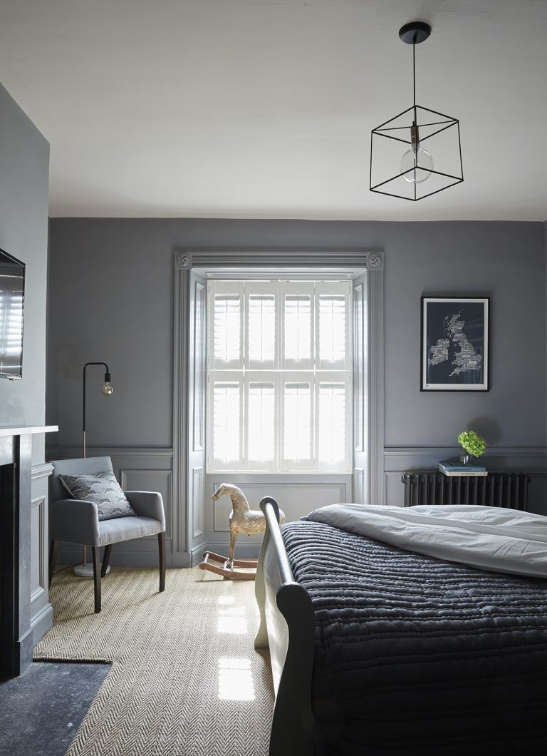 Gorgeous grey bedroom ideas - from stone to steel  Livingetc