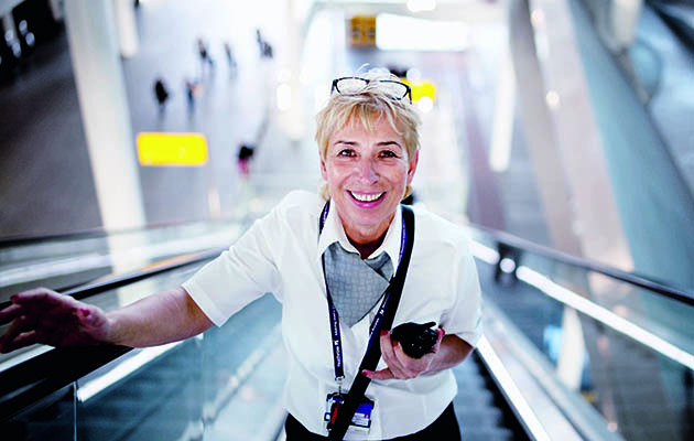 With more than 76 million arrivals last year, London Heathrow airport is Europe's biggest and busiest.