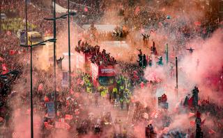 Liverpool Champions League celebration