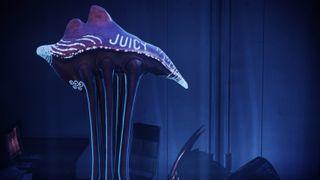 A very sexy jellyfish alien