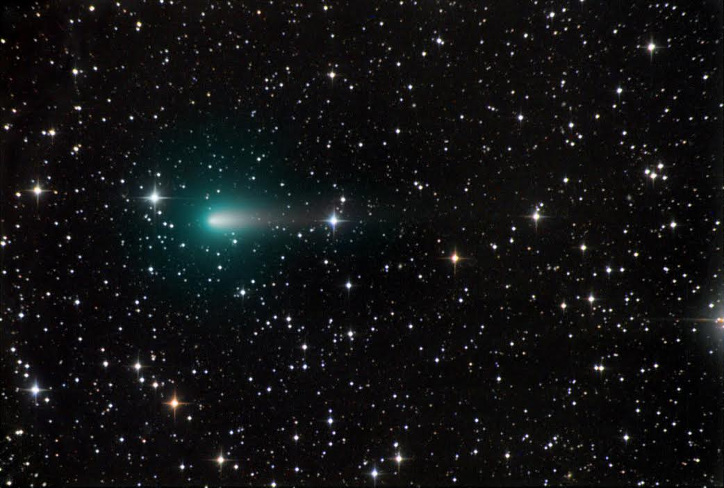 Astrophotographer Chris Schur captured this view of Comet Atlas on April 9, 2020, from Payson, Arizona. The comet appears quite diffuse now, hopefully there will be something left to see near perihelion! Schur told Space.com via email.