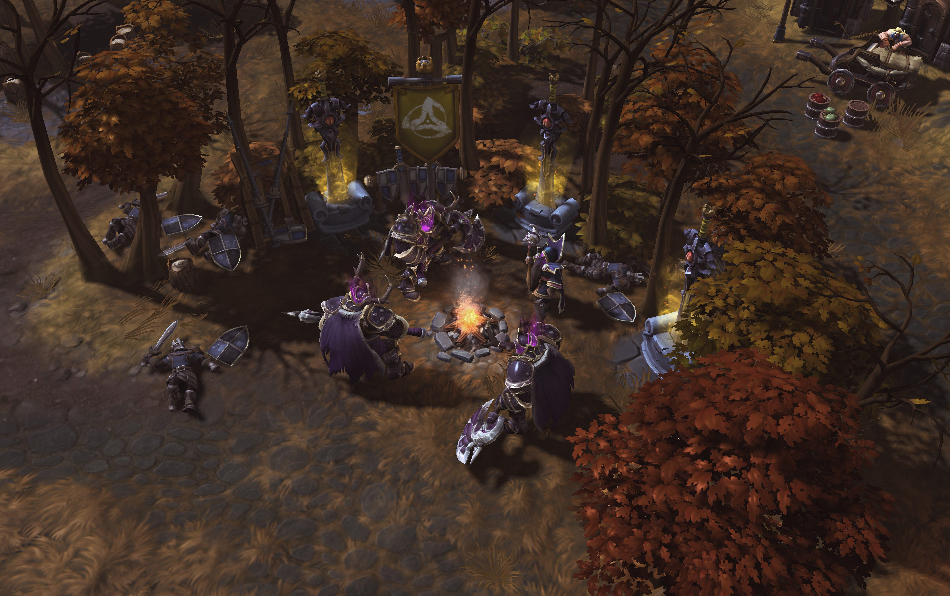 Heroes Of The Storm: Universes Collide In First Gameplay Trailer And Screenshots #29616