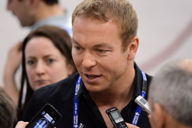 Sir Chris Hoy interview, Glasgow Track World Cup 2012, day three
