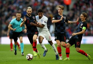 England v Croatia – UEFA Nations League – Group A4 – Wembley Stadium