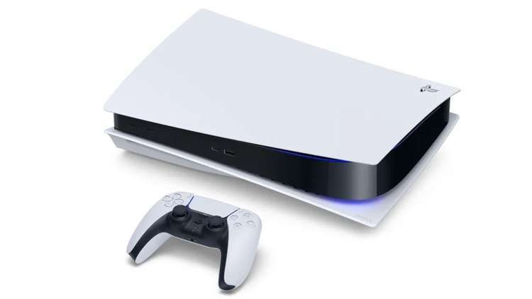PS5 console and DualSense controller