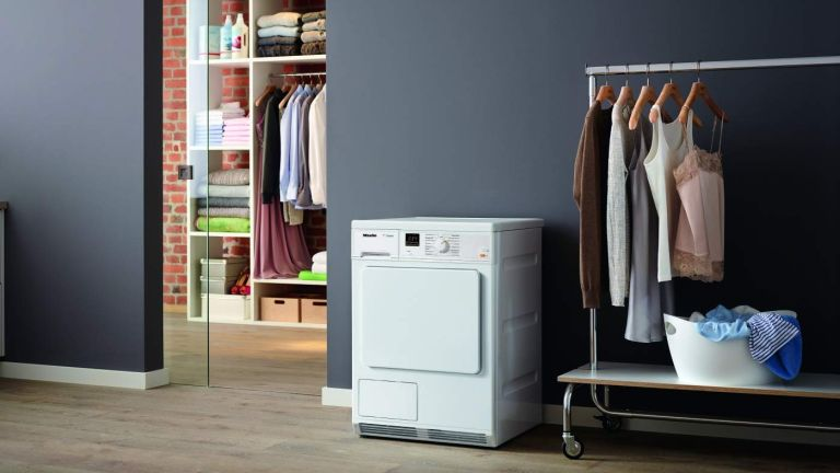 the best tumble dryer with Miele TDA140 C Freestanding Condenser Tumble Dryer