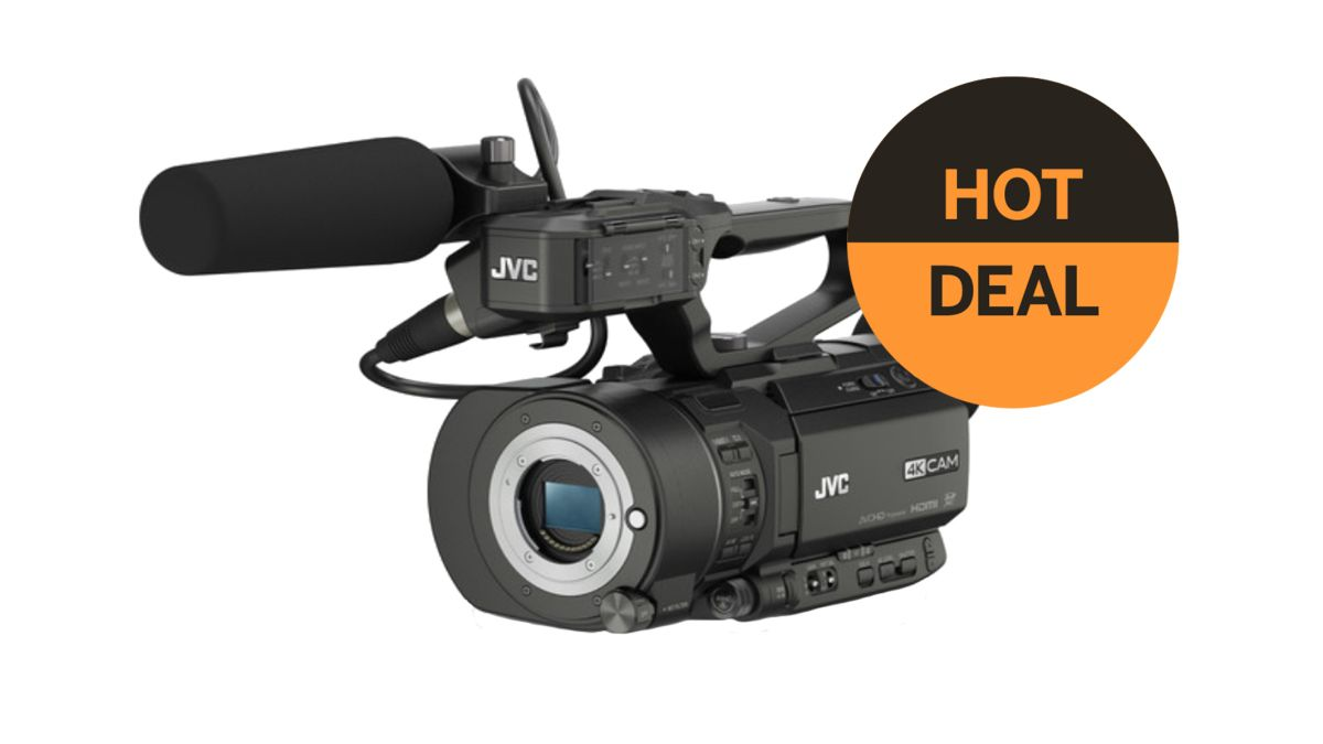 Grab the JVC GY-LS300 4KCAM Handheld S35mm Camcorder for just $1,895!