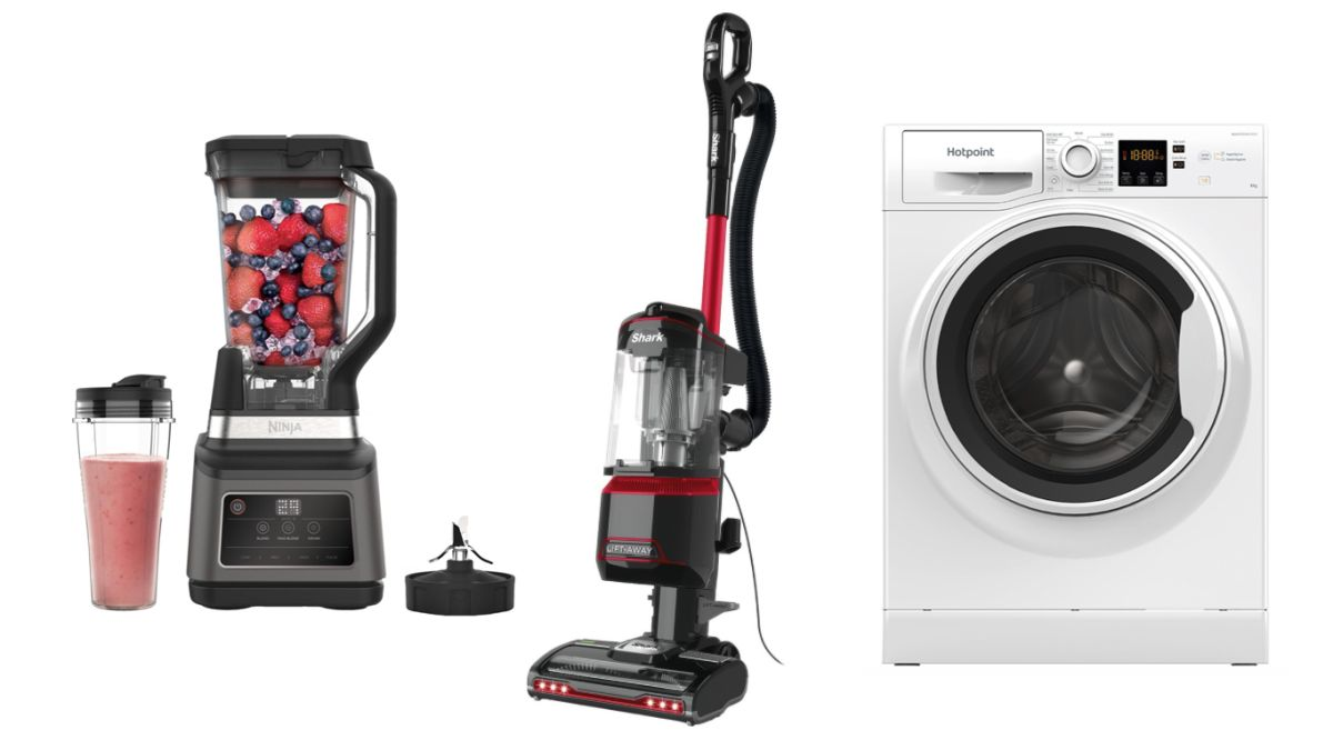 Shark vacuum cleaner and Ninja blender get socking great deals at AO plus savings on washing machines and garden tools