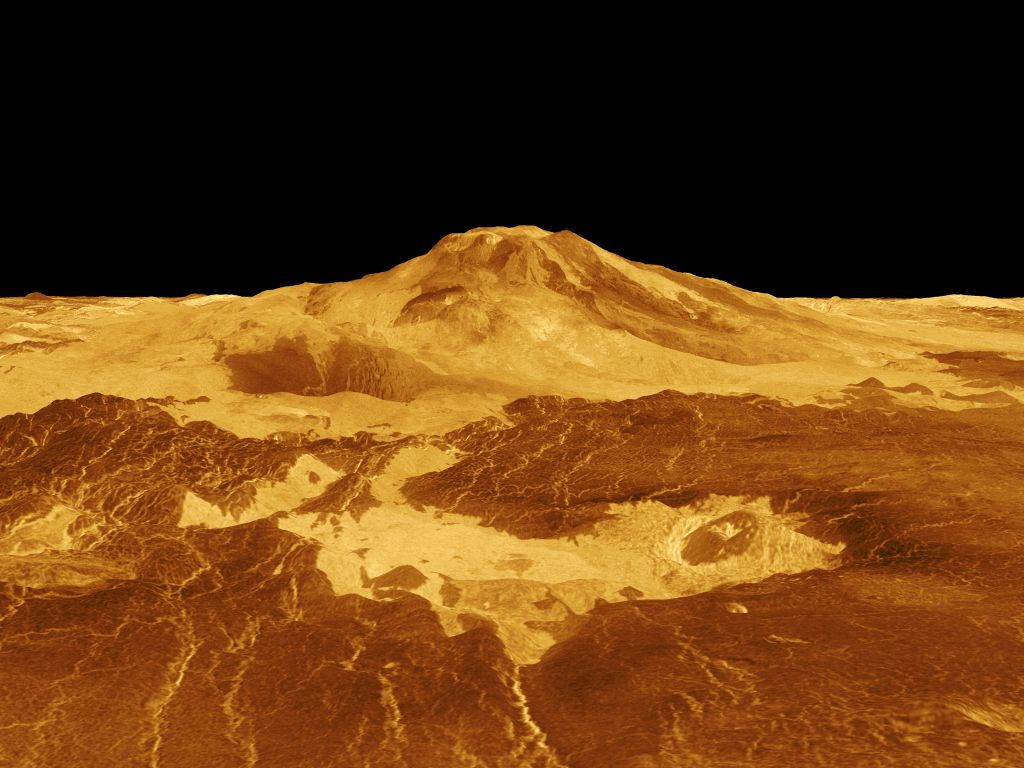 Strange chemical on Venus may come from volcanoes, not life