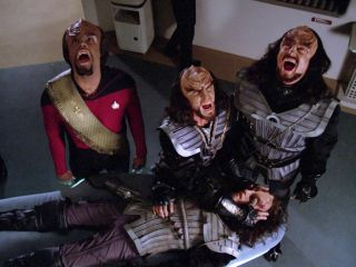 Klingon scene from Star Trek