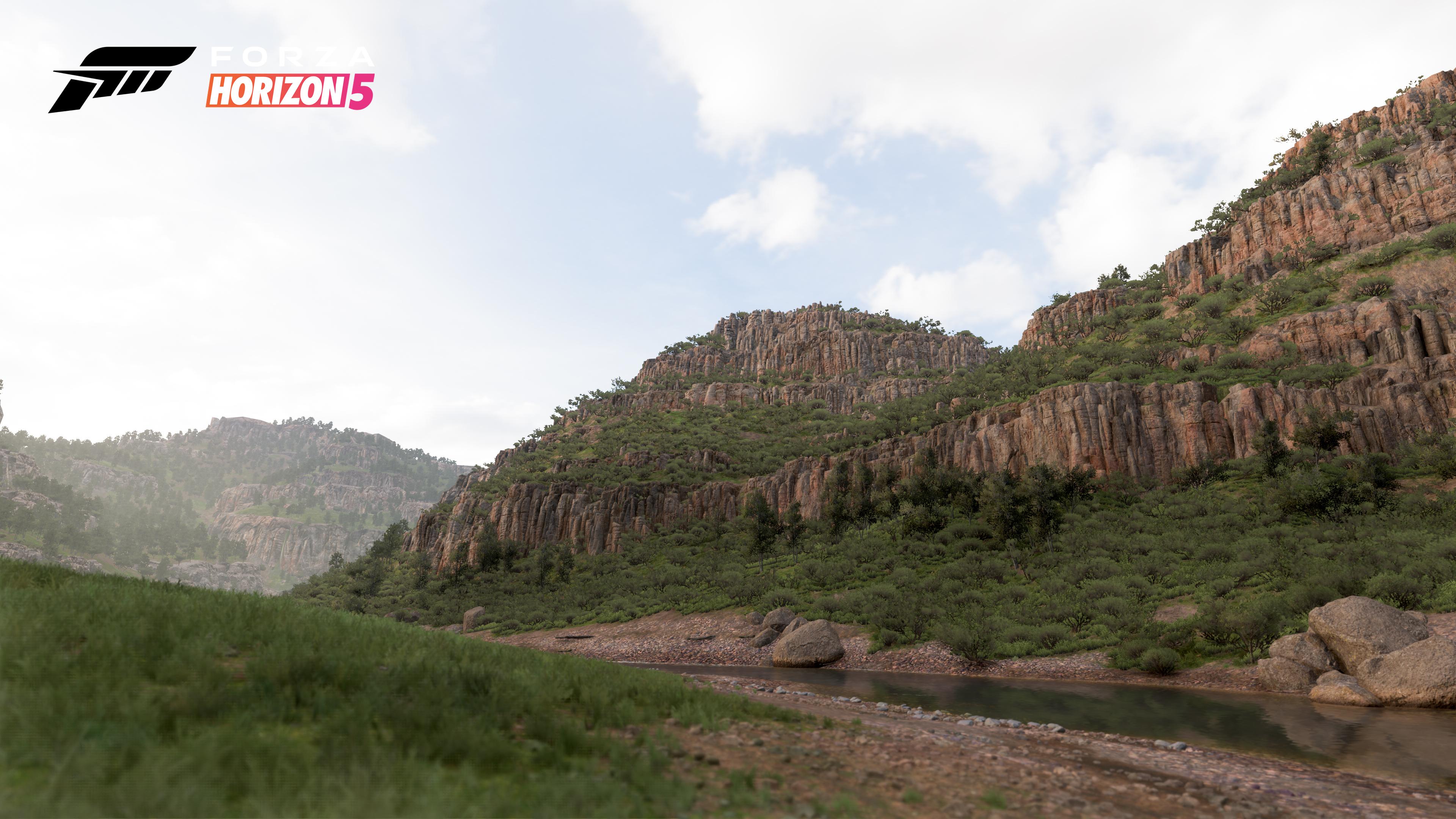 Forza Horizon 5 canyon