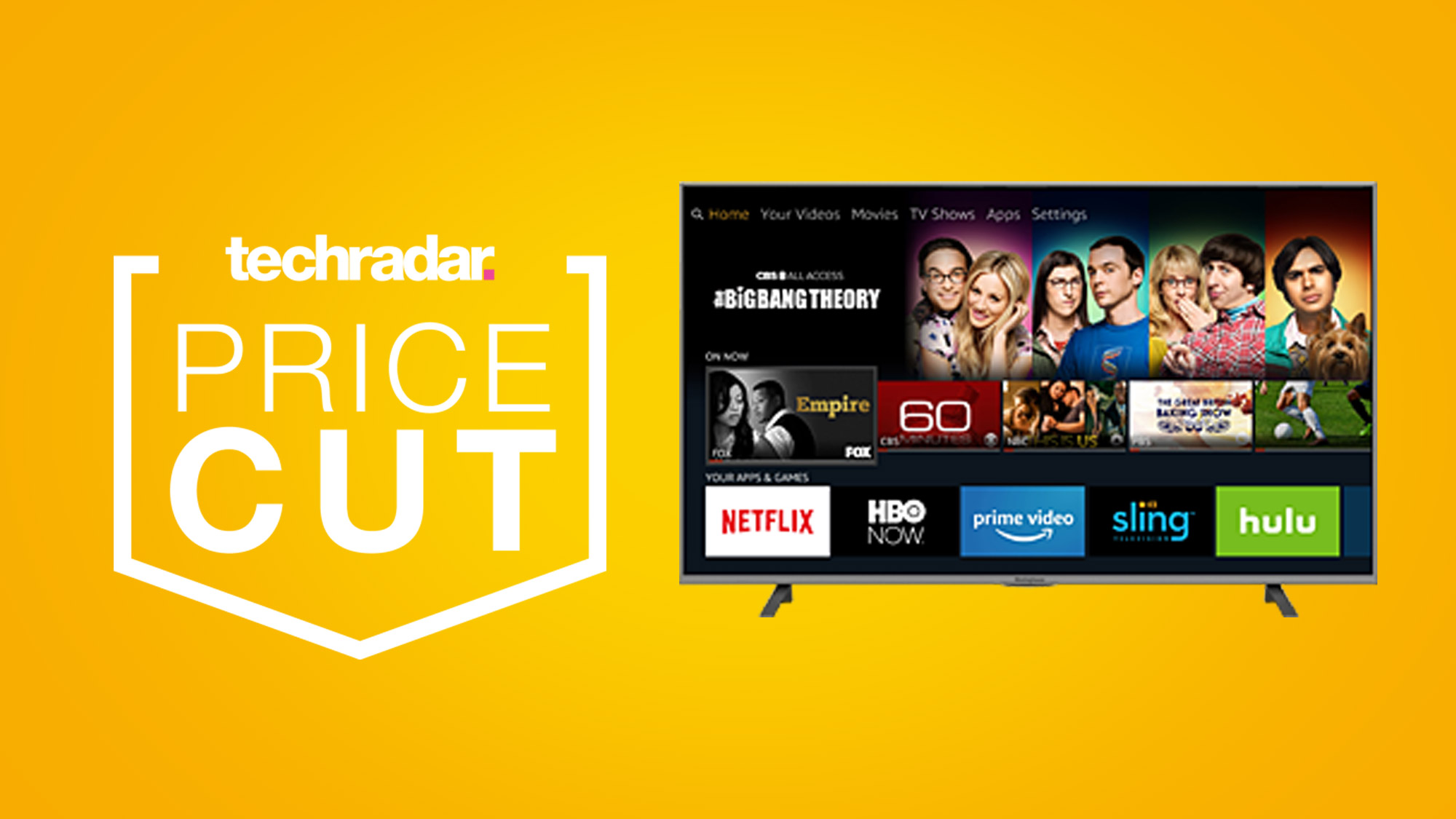 Cheap Super Bowl TV deals: this 50-inch 4K Fire TV is on sale for $329.99 at Amazon thumbnail