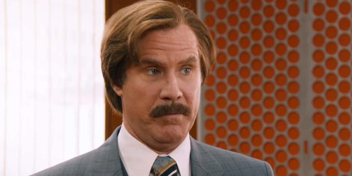 Will Ferrell as Ron Burgundy in Anchorman 2: The Legend Continues (2013)