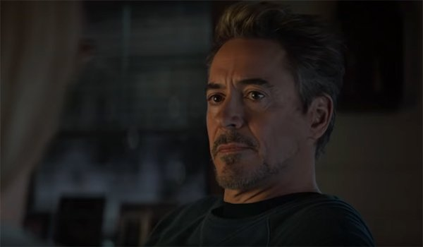 Tony Stark talking to Pepper Potts