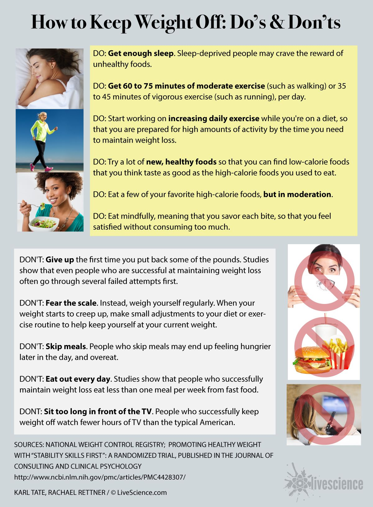 how to keep weight off after dieting