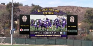 California Lutheran University Adds Daktronics Video Display to Stadium