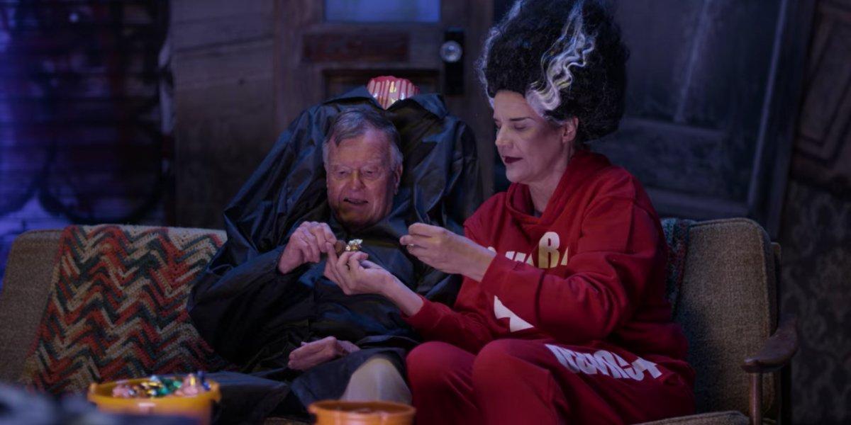 Dick Johnson and Kirsten Johnson in Dick Johnson is Dead