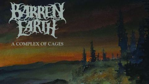 Barren Earth - A Complex Of Cages album artwork