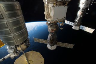 Spacecraft on ISS