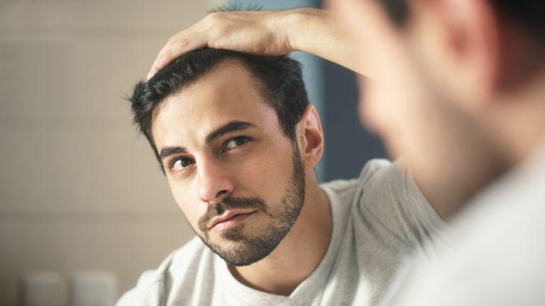 Male hair growth