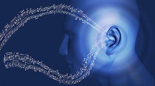 listening, music