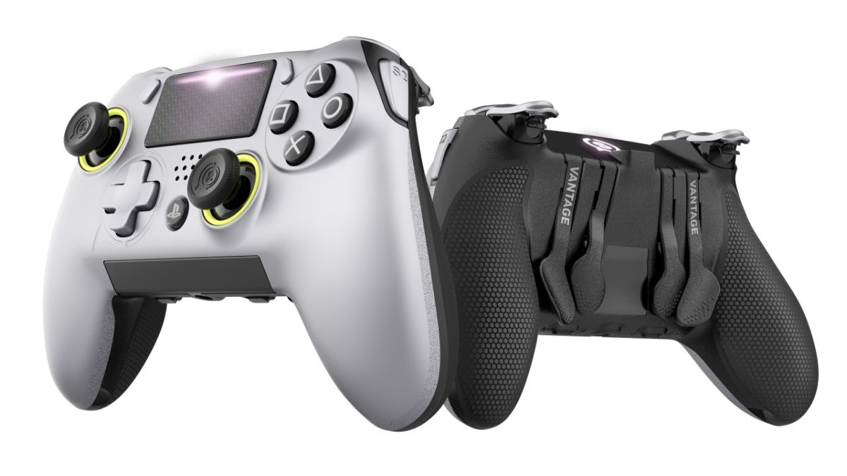 This premium controller for PS4 is officially licensed and it looks pretty Elite
