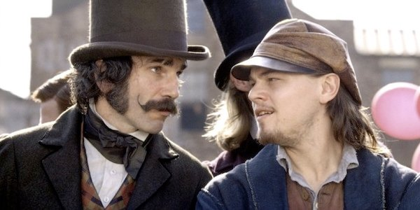 Leonardo DiCaprio and Daniel Day Lewis in Gangs of New York