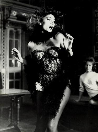 Lola - Anouk Aimée plays a cabaret singer in Jacques Demy's classic film