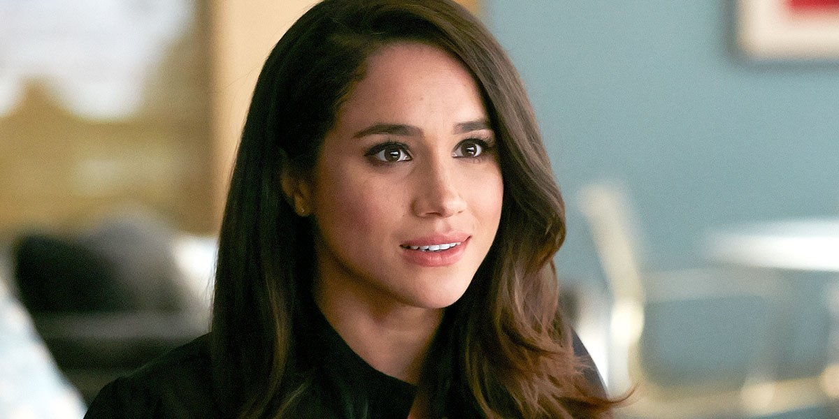 Meghan Markle in Suits before Royal Wedding