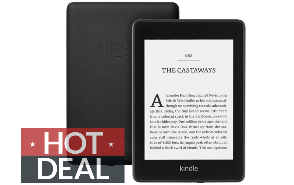 Amazon's certified refurbished Kindle Paperwhite is just £104 right now